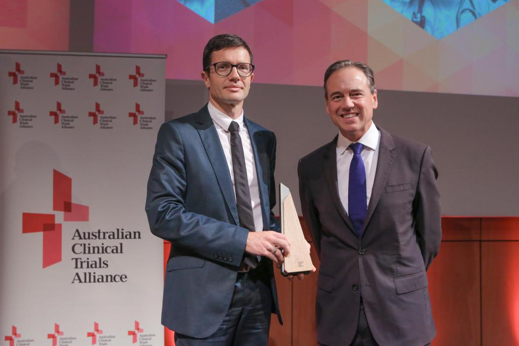 ACTA Trial of the Year Excellence in Trial Statistics Award & Finalist SAVE Study